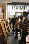 Студенты УЦ Успех курса Дизайн интерьера профессиональный на семинаре Виды напольных покрытий. Паркет