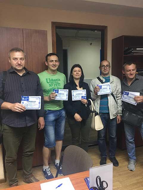 В учебном центре Успех был проведён тренинг для сотрудников компании Рубиж по курсу Проектирование инженерных коммуникаций в Autodesk Revit MEP