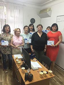 Выпуск группы 1С: Бухгалтерия 8.3 для ведения бухгалтерского учета на компьютере в учебном центре Успех г. Киева