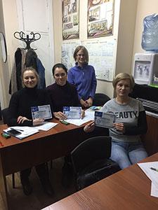 Выпуск группы Главный бухгалтер + 1С: Бухгалтерия 8.3 (налоговая и финансовая отчётность в 1С) в учебном центре Успех г. Киева