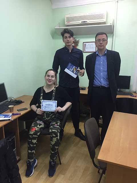 Выпуск группы по курсу Интернет-маркетолог (SMM-менеджер) в учебном центре Успех г. Киева