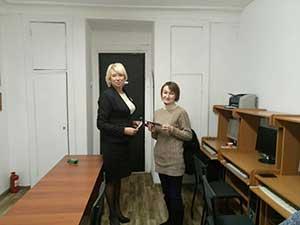 Выпускники курса Пользователь ПК с преподавателем Юрчишиной Екатериной в Киеве. Учебный центр Успех