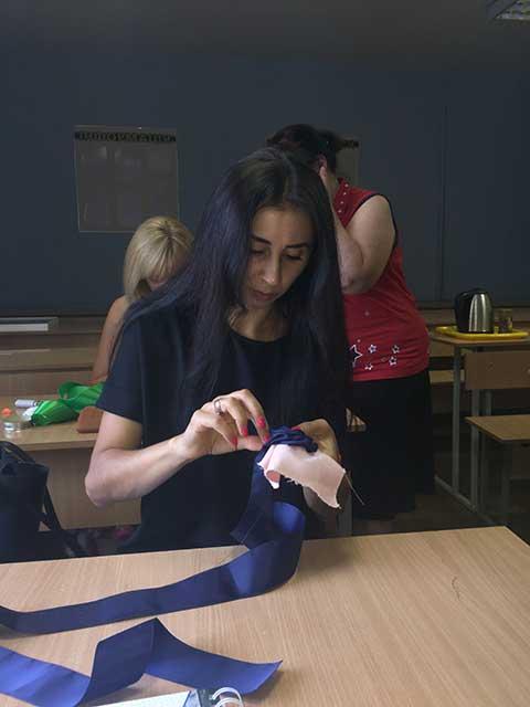 В учебном центре Успех  выпустилась группа по курсу Текстильный дизайн, дизайн штор