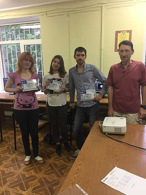 В учебном центре Успех  выпустилась группа по курсу Трехмерная графика и анимация в 3D st MAX