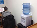 Свежая вода всегда для Вас в офисе и аудиториях учебного центра Успех